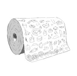 Papier z nadrukiem